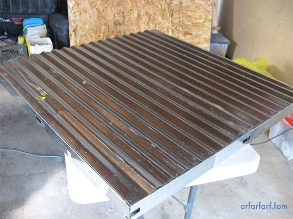 corrugated steel sheet metal