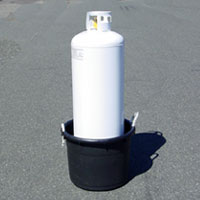 propane tank bath