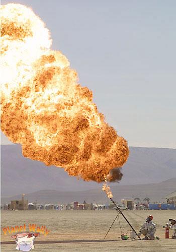 gasoline cannon