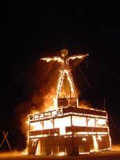 Man burns 12